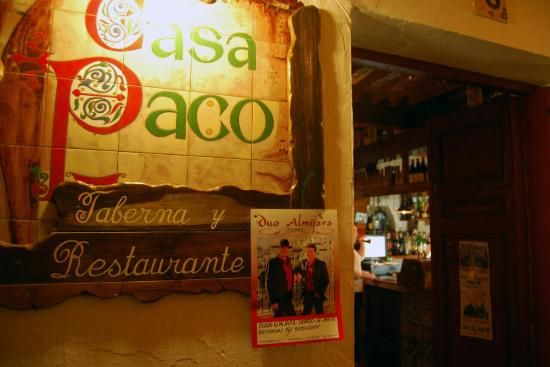 imagen Taberna Restaurante Casa Paco en Cómpeta