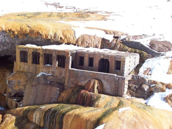 Puente del Inca, Argentina: antiguo hotel