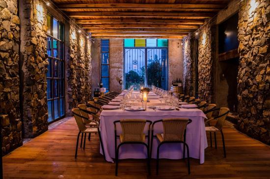 Maipu, Argentinien: cenando con el enemigo