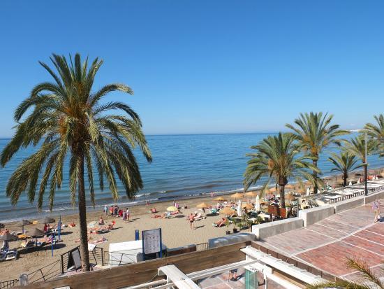 Beach view photo de aparthotel puerto azul marbella marbella tripadvisor - Aparthotel puerto azul marbella ...