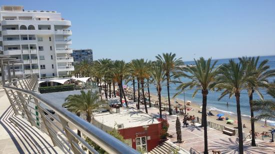 Beach view picture of aparthotel puerto azul marbella marbella tripadvisor - Aparthotel puerto azul marbella ...