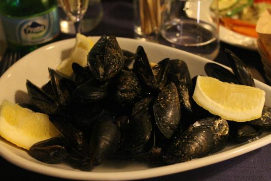 Mussels picture of soul fish restaurant sorrento for Soul fish cafe