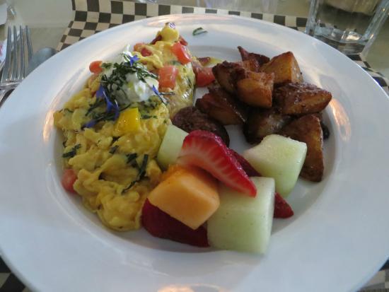 Sisters, Oregón: Special breakfast soft scramble