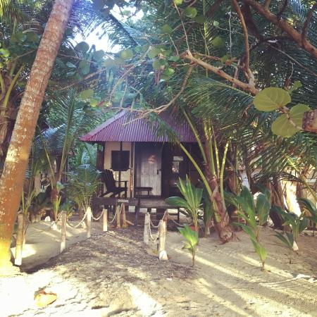 Little Corn Beach and Bungalow Image