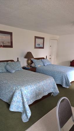 Acadia Sunrise Motel: Double double kitchen suite