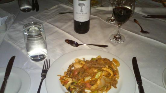 Gaborone Sun: Stir fry with wine
