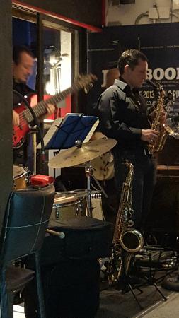 Jazz band at El Convite