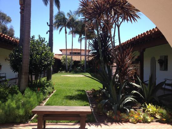 San Clemente, Kalifornia: Courtyard garden