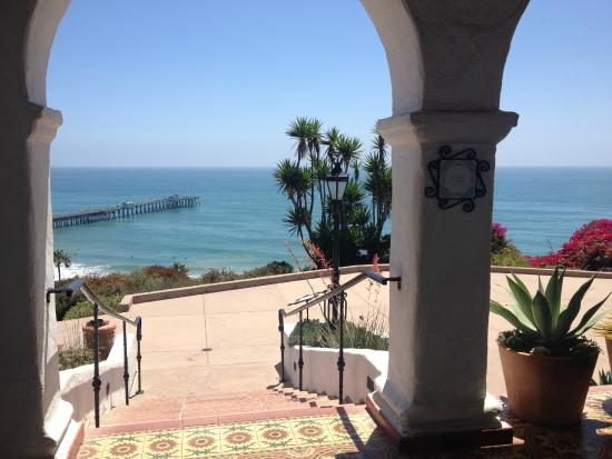 San Clemente, CA: View from the terrace
