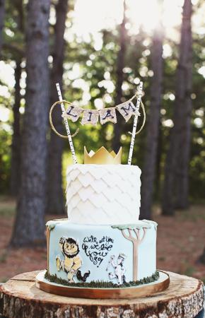 Photo Where The Wild Things Are Birthday Cake