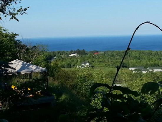 Irish Mountain Bed and Breakfast : View from the private deck