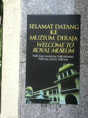 The Royal Museum (Old Istana Negara)