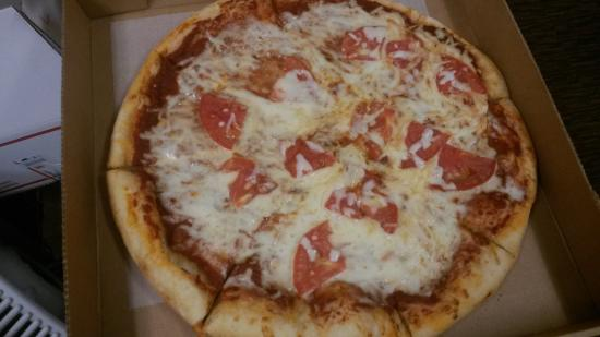 Hernando, FL: Lot's of cheese and tomatoes, lacked taste!