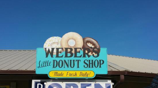 Weber's Little Donut Shop