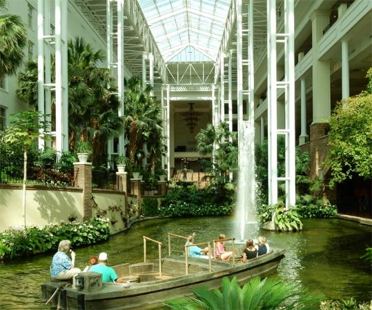 opryland gardens and boat ride picture of gaylord. Black Bedroom Furniture Sets. Home Design Ideas