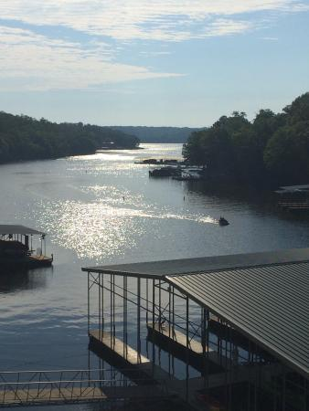 Riviera Villas & RV Resort: Beautiful view from our deck