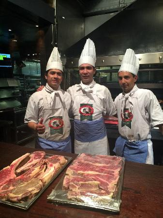 Cabaña Las Lilas: The Steak Preparation Masters!