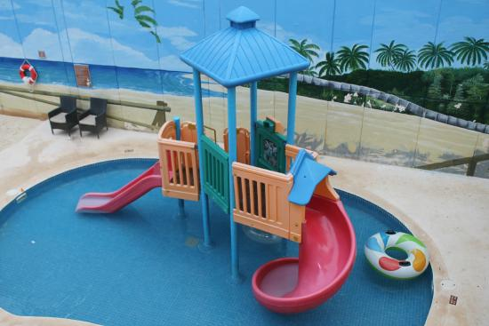 Kids Pools With Slides kids pool water slides - picture of gr solaris cancun, cancun