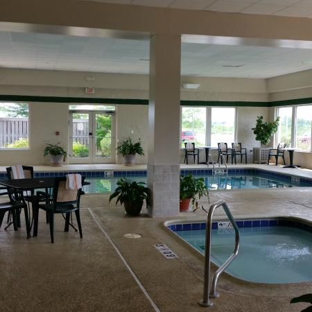 Holiday Inn Chicago-Tinley Park-Convention Center: large pool and whirlpool