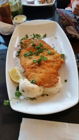 how to cut chicken breast for schnitzel