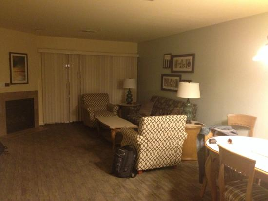 WorldMark Branson Condos : Living/dining area in 2 BR condo