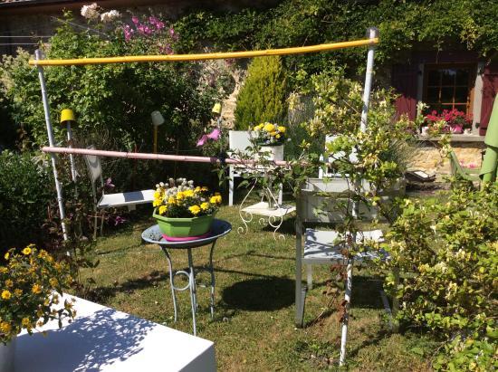 La Glycine du Boulonnais : Le jardin