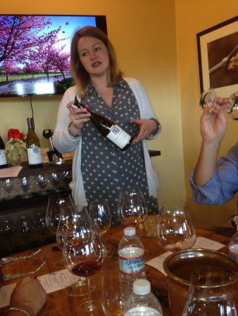 Cristom Vineyards : Rachel Awesomeness
