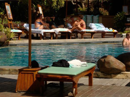 Garden Tour at Bali Hyatt: Pool Area