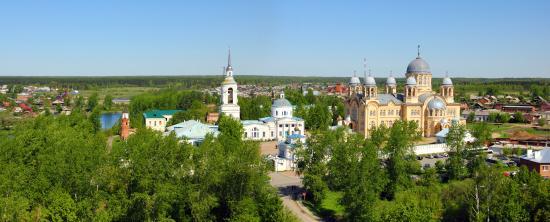 Крестовоздвиженский собор Свято-Николаевского монастыря