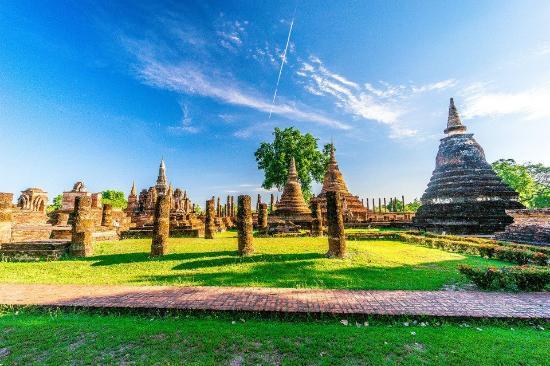 Wat Mahathat (Sukhothai Historical Park)