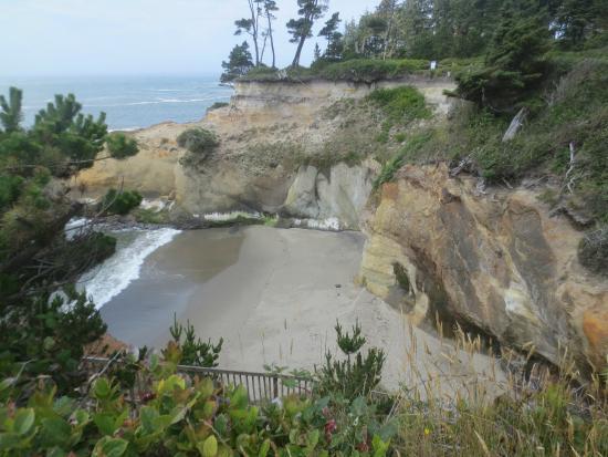 ดีโพเบย์, ออริกอน: Private Beach