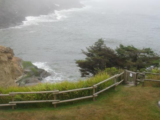 ดีโพเบย์, ออริกอน: Back Lawn Overlooking Ocean