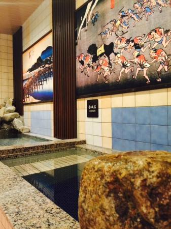 Dormy Inn Express Nagoya: 大浴場