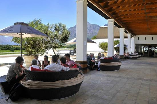 Vrede en Lust Winery: View from the terrace