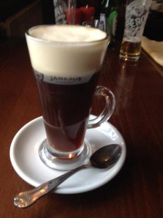 Thank you Tabathah for training Steph for making the perfect Irish Coffee