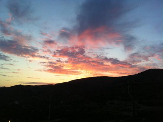 Amorgion Hotel: Sunset