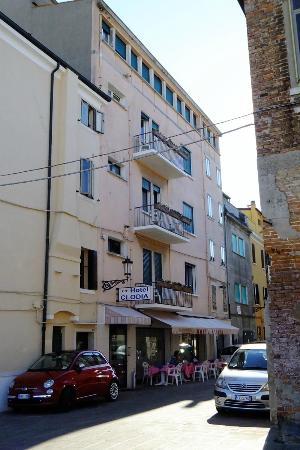 Hotel Clodia : La façade Calle Forno Filippini