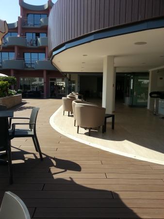 Luna Clube Oceano: New bar area
