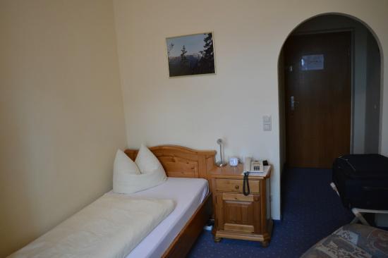 Hotel Vier Jahreszeiten: camera singola