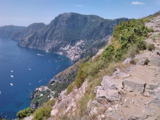 Agerola, Italy: scorcio verso Positano