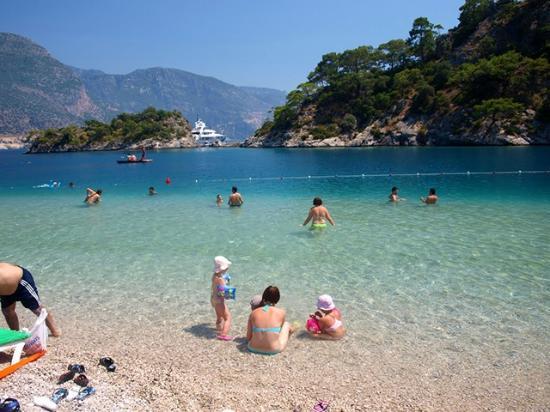 Playa de Oludeniz: beach