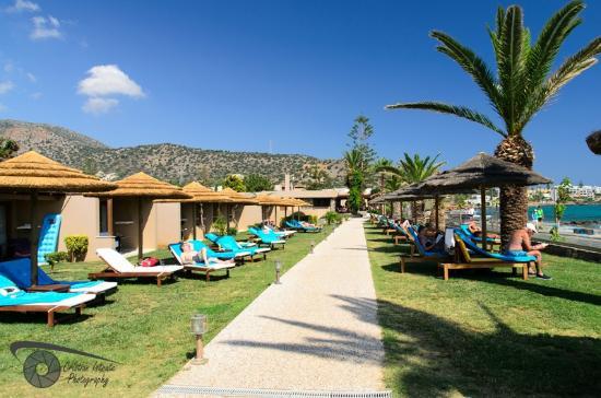 SENTIDO Blue Sea Beach  Hotel grounds. Hotel grounds   Picture of SENTIDO Blue Sea Beach  Stalis