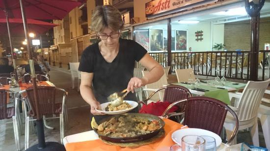 Restaurante Elias. Comarruga.Tarragona.