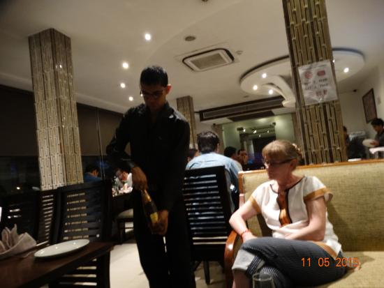 Hotel Saptagiri: Пиво