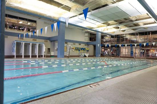 Ymca pool picture of hilton charlotte center city - Indoor swimming pools charlotte nc ...