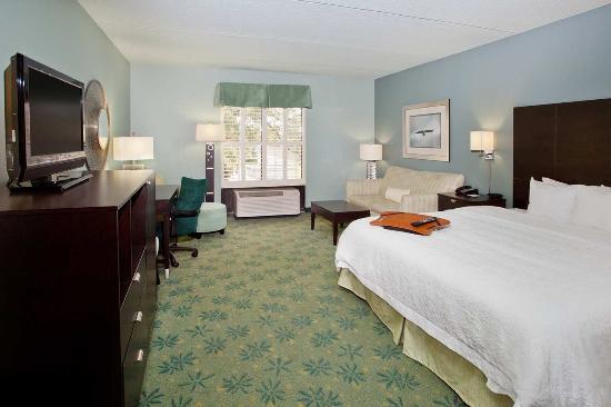 Hampton Inn St. Simons Island: Deluxe King Guest Room