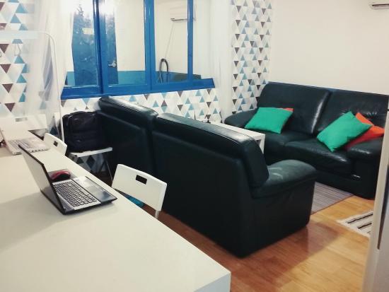 Housetay: living room