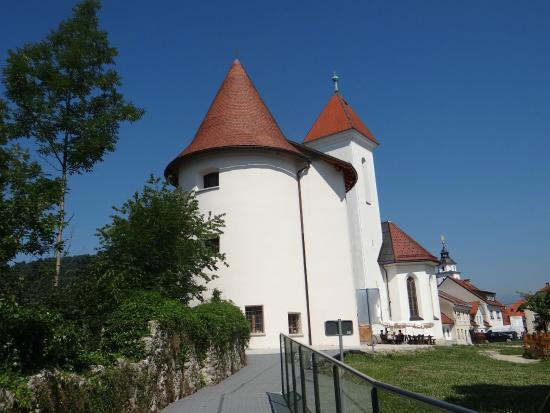 Pungert With Two Towers and the Church