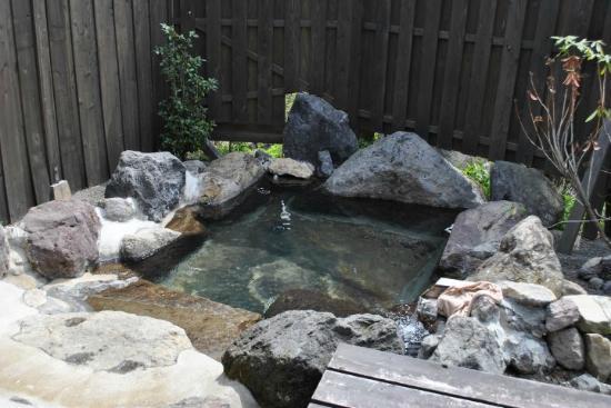 Wazanho: 部屋の露天風呂