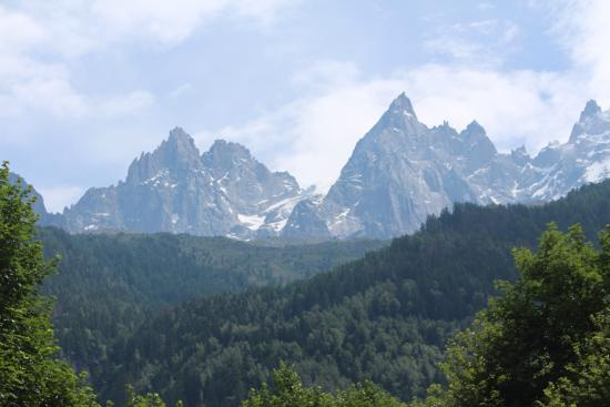 UCPA Chamonix: View from our room! Amazing!